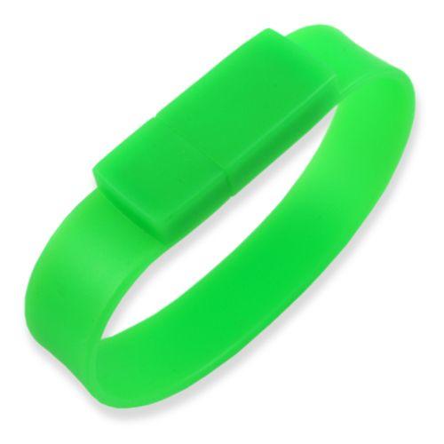 16GB USB-флэш накопитель Apexto U601A браслет зеленый