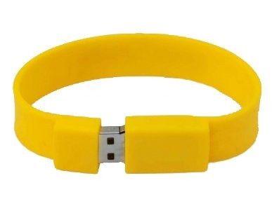 8GB USB-флэш накопитель Apexto U601A браслет желтый