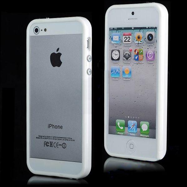 Бампер для iphone 5c (белый)
