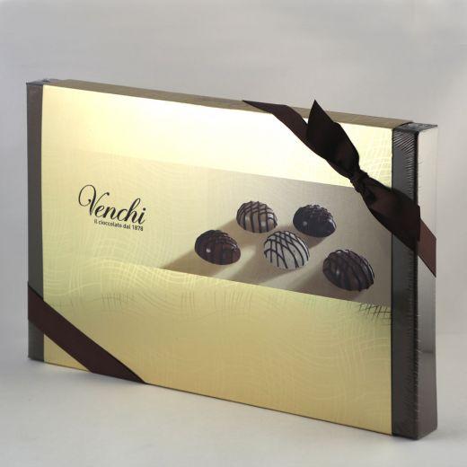 Конфеты шоколадные Venchi Диаблотин пралине без глютена - 160 г (Италия)