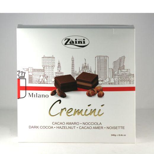 Конфеты шоколадные Zaini Кремини (Джандуя с лесным орехом) - 240 г (Италия)