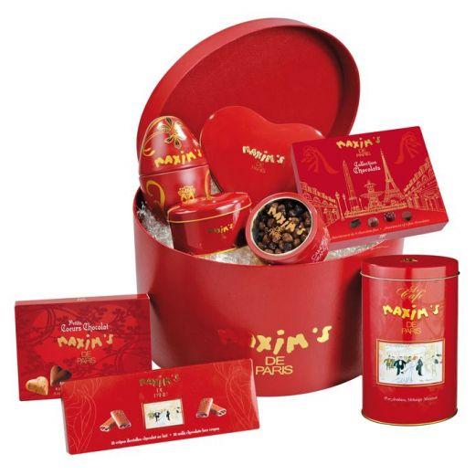Набор подарочный Maxim`s Rouge - 830 г (Франция)