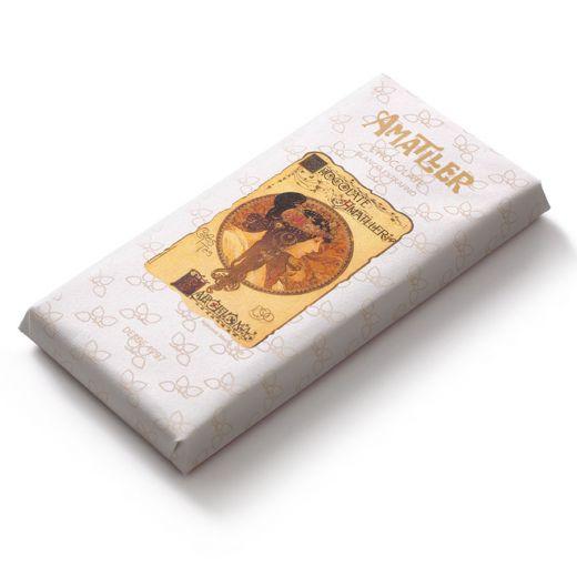 Шоколад Amatller Белый - 85 г (Испания)