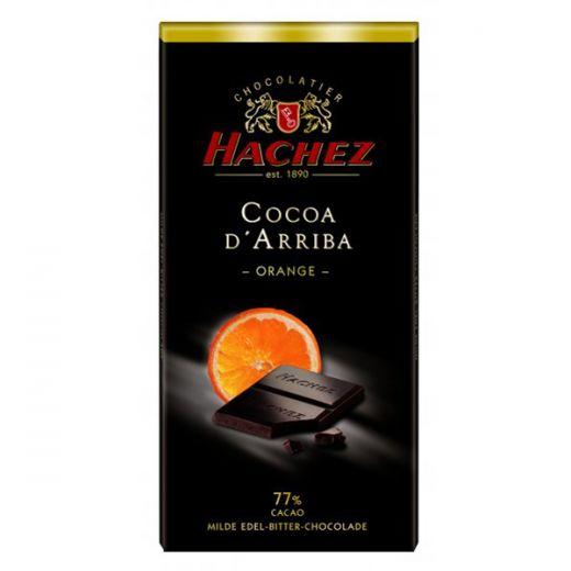 Шоколад Hachez с Апельсином 77% - 100 г (Германия)