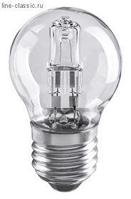Лампа галогенная Шар G45 42W E27