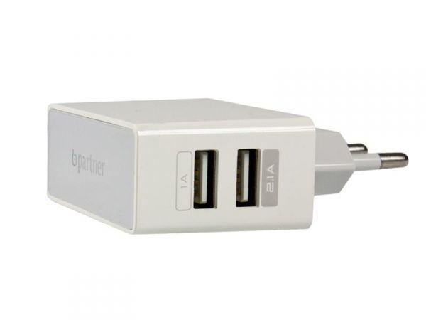 СЗУ Partner USB 2.1A, 2USB
