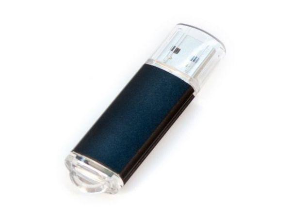 4GB USB-флэш накопитель Apexto U307B, черный с прозрачным колпачком