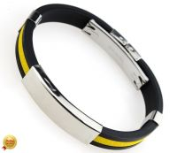 Каучуковый браслет под гравировку 33NT-Shir