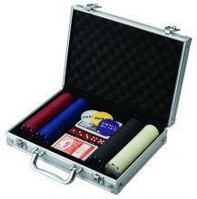 Набор для покера 200 фишек в кейсе +DVD диск (14+)