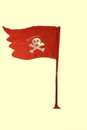 Флаг пирата с присоской