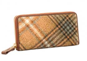 Шотландский большой кошелёк, расцветка Эйквуд