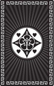 """Магическая карта """"Талисман для поиска любви"""", 90х57 мм, сталь с покрытием"""