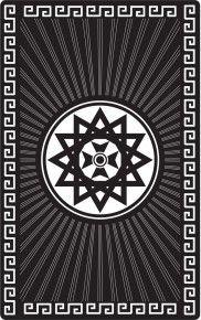"""Магическая карта """"Звезда эрцгаммы"""", 90х57 мм, сталь с покрытием"""
