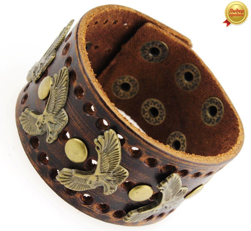 Кожаный браслет 224NT-Shir