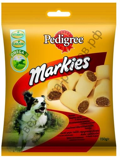 Pedigree Markies лакомство для собак, 150 гр.