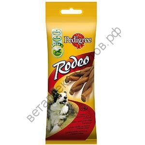 Pedigree Rodeo лакомство для собак, 70 гр.