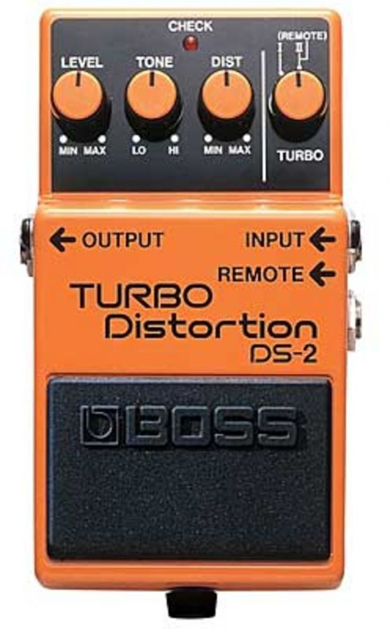 BOSS DS-2 Педаль гитарная Turbo Distortion