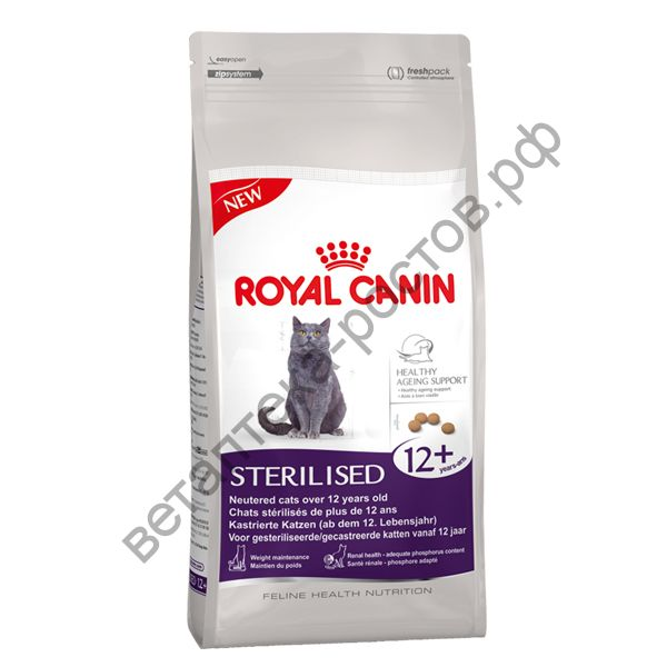 Royal Canin для кошек Sterilised 12+