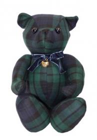 Шотландский тартановый (клетчатый) медведь Герцог Паддингтон из королевского полка Блэкуотч