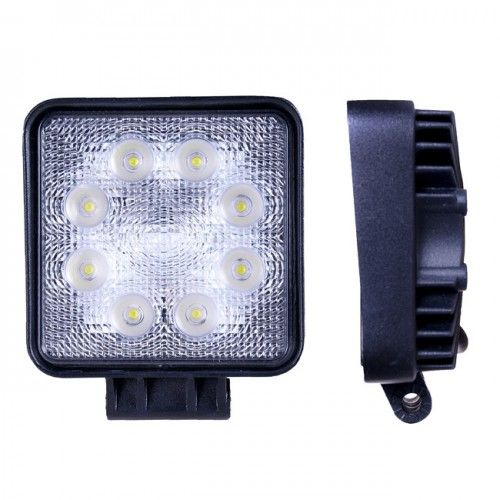 Квадратная светодиодная LED фара рабочего света 24W
