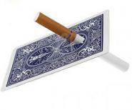 Сигарета сквозь карту