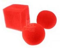 Губки куб+2 шарика