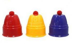 Стаканчики и шарики (пластик) (чаша -7 см ,высота - 7 см)