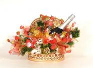 """Букет из конфет №369 """"Новогодняя суета"""""""