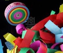"""""""Взрыв радуги"""" бросок конфетти"""