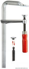Цельнометаллическая струбцина BESSEY GZ с традиционной деревянной ручкой GZ16