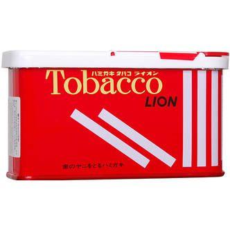 """LION Зубной порошок """"Tobacco"""" для курильщиков, 160 гр (Япония)"""