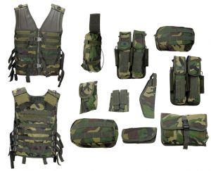 Разгрузка Gen X Global Lightweight Modular Vest - Woodland Camo