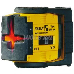 STABILA LAX 200 Komplett-Set - лазерный нивелир