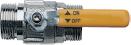 Запорный газовый кран KHG 71405251