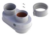 Адаптер для подключения раздельных труб, диам. 80 мм, HT  7102689