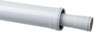 Коаксиальное удлинение диам. 60/100 мм, длина 500 полипропиленовое, HT SCA-8610-000500 STOUT