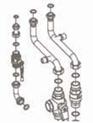 Комплект для подсоединения котла к коллектору  7105852