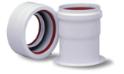 Переходной комплект на раздельные трубы полипропиленовый, диам. 80 мм, HT   KHG  71408901 (Дуотек МР)