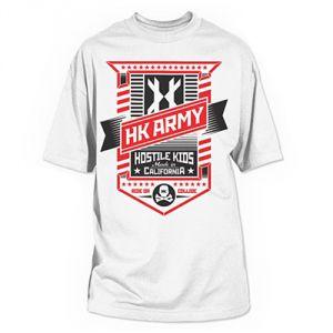 Футболка HK Army Badge - White (L)