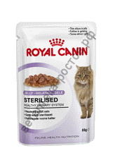Royal Canin для кошек Sterilised в желе, пауч 85 гр. уп. 12 шт.