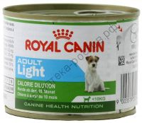 Royal Canin для собак Adult Light mousse, банка 195 гр.
