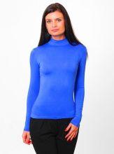 Водолазка женская синяя