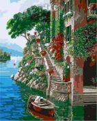 """Раскраска по номерам """"Венецианская лесенка"""""""