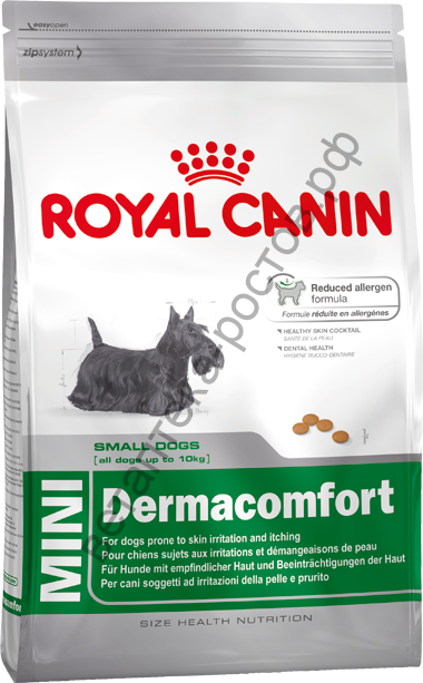 Royal Canin для собак Mini Dermacomfort
