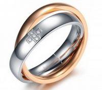 Двойное кольцо 370ST034w