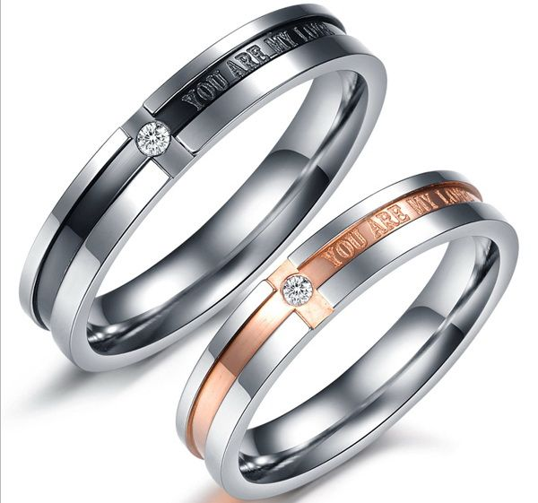 Обручальные кольца You Are My Love