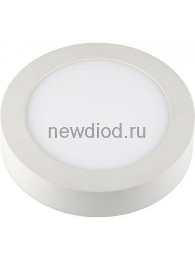 Панель светодиодная круглая NRLP-eco 14Вт 160-260В 4000К 980Лм 170мм белая накладная IP40