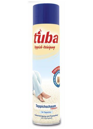 Tuba Сухая пена для чистки ковров, 0,6 л