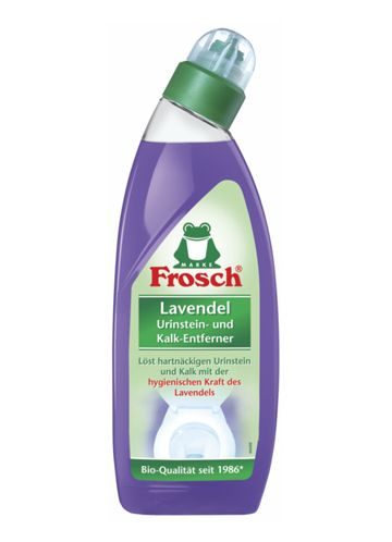 Frosch Лавандовый очиститель унитазов, 0,75 л