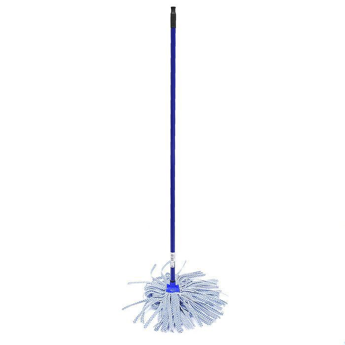Rival Aqua-Clean Лепестковая швабра из микроволокна, ручка 120 см